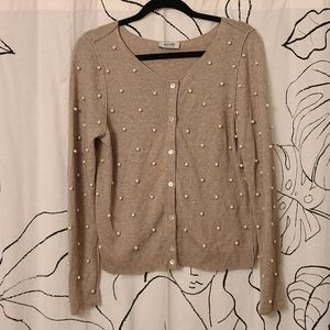 Moschino Cheap and Chic Pearl Cardigan